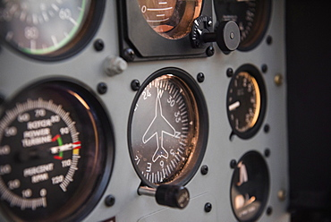 Cockpit in helicopter