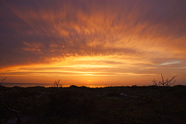 Scenic view of sunset sky, Captiva Island, Florida, USA
