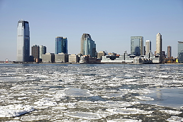 City skyline, Jersey City, New Jersey