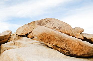 View of boulders, Joshua Tree, California, USA