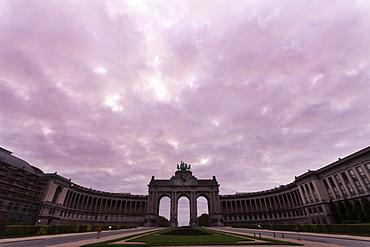 Cinquantenaire Arch, Belgium, Brussels, Cinquantenaire Arch