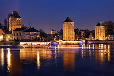 Ponts Couverts, France, Alsace, Strasbourg, Petite-France, Ponts Couverts