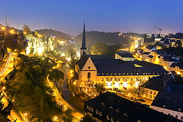 Neumunster Abbey, Luxembourg, Luxembourg City, Neumunster Abbey