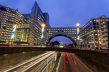 Street at night, Netherlands, South Holland, Hague