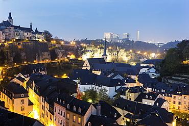 Neumunster Abbey and St Michael's Church, Luxembourg, Luxembourg City, Neumunster Abbey,St Michael's Church