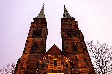 St. Sebaldus Church, Germany, Bavaria, Nuremberg, St. Sebaldus Church