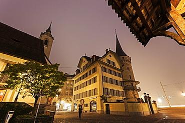 St. Peters-Kapelle, Switzerland, Lucerne, St. Peters-Kapelle