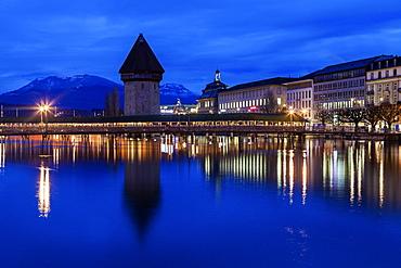 Chapel Bridge, Switzerland, Lucerne, Chapel Bridge,Kapellbrucke,