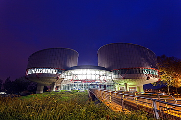 European Court of Human Rights, France, Alsace, Strasbourg, European Court of Human Rights