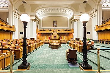Interior of Saskatchewan Legislative Building, Canada, Regina, Saskatchewan, Saskatchewan Legislative Building