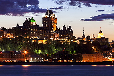Chateau Frontenac, Canada, Quebec, Quebec City, Chateau Frontenac