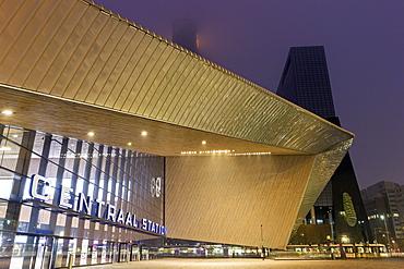 Rotterdam Central railway station, Netherlands, South Holland, Rotterdam, Rotterdam Centraal railway station