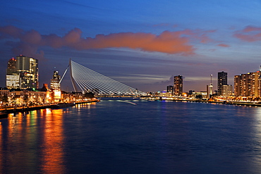 Erasmus Bridge, Netherlands, South Holland, Rotterdam, Erasmus Bridge