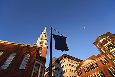 Park Street Church, USA, Massachusetts, Boston, Boston Common, Park Street Church
