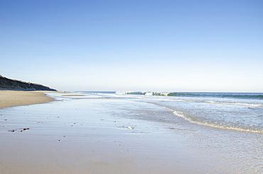 Massachusetts, Orleans, Nausea Beach and coastline