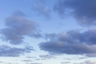 Moody sky at dusk