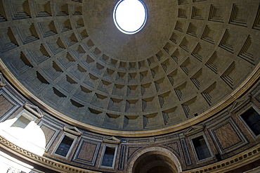 Italy, Rome, Dome of Pantheon