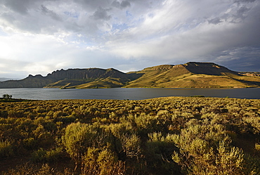 USA, Colorado, Gunnison, Curecanti National Recreation Area and Blue Mesa Reservoir