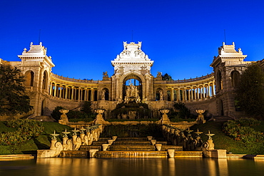 France, Provence-Alpes-Cote d'Azur, Marseille, Palais Longchamp Monument