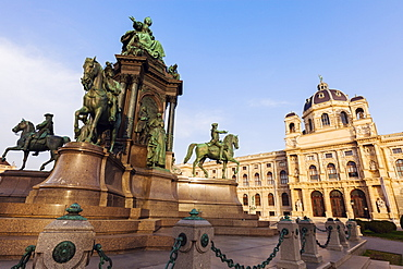 Austria, Vienna, Museum of Natural History on Maria Theresa Square