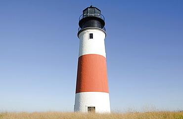 USA, Massachusetts, Nantucket Island, Sankaty Head Lighthouse