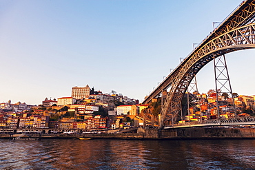Portugal, Norte, Porto, Luiz I Bridge