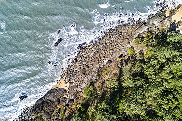 Australia, Queensland, Aerial view of coastline (Drone)