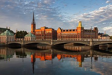 Riddarholmen in Stockholm, Sweden