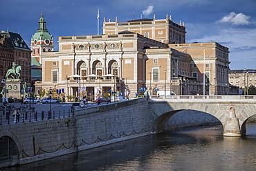 Royal Swedish Opera in Stockholm, Sweden
