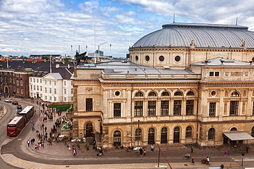 Royal Danish Theatre in Copenhagen, Denmark