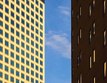 Office buildings in Denver, Colorado, USA