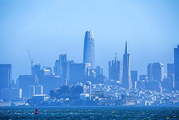 Skyline of San Francisco in California, USA