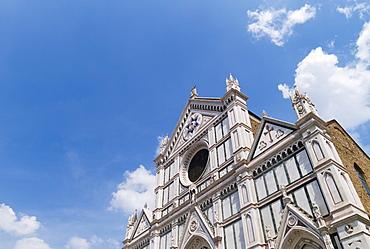 Low angle view of Santa Maria Novella, Florence, Italy