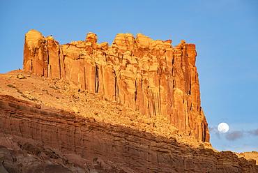Castle Rock in Capitol Reef National Park, Utah, USA