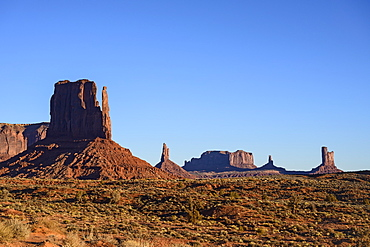 Buttes in Monument Valley, Arizona, USA