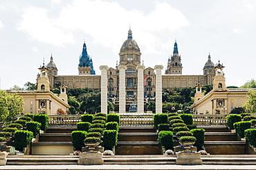Museu Nacional d'Art de Catalunya in Barcelona, Spain