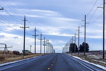 Highway in Gooding, Idaho