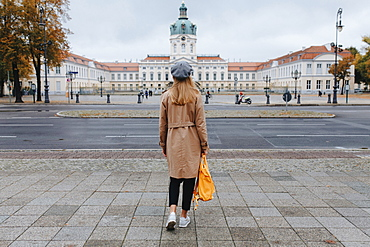 Young woman by Charlottenburg Palace