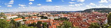 Cityscape in Praga, Warsaw, Poland