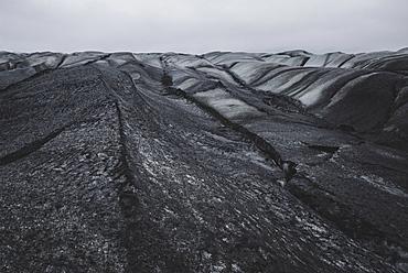Glacier in Skaftafell, Iceland