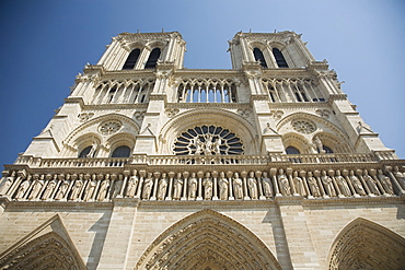 Low angle view of cathedral
