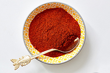 Paprika in bowl
