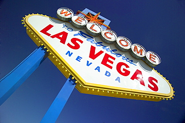 Las Vegas, Nevada welcome sign