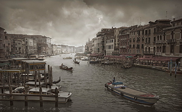 Boats in Grand Canal