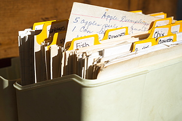 Box of old files