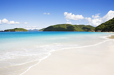 United States, Virgin Islands, St. John, Cinnamon Bay Beach