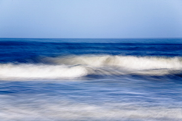 Waves at False Cape State Park, Virginia Beach, Virginia, USA