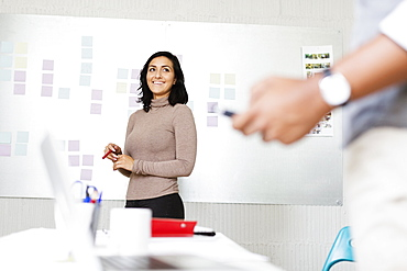 People in office of Small Business, Start-up