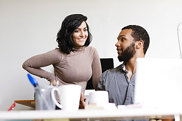 Man and woman in Small Business, Start-up