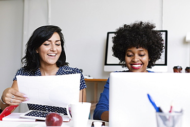 Two women working in Small Business, Start-up